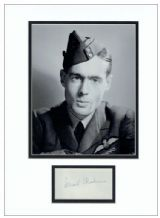 Leonard Cheshire Autograph Display